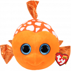 TY BEANIE BOO'S ORANGE FISH SAMI 24 CM
