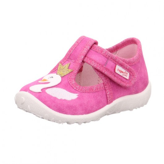 TEXTILE SLIPPERS SUPERFIT SPOTTY ROSA 1-009256-5000