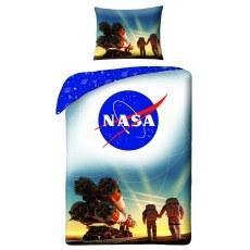 SINGLE DUVET SET 140 X 200 CM NASA NS-4066BL
