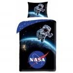 SINGLE DUVET SET 140 X 200 CM NASA NS-4067BL