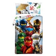 SINGLE DUVET SET 140 X 200 CM LEGO NINJAGO LEGO-967BL