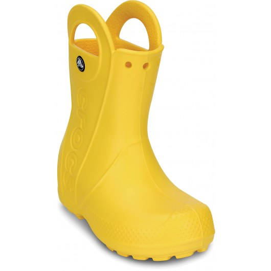 CROCS KIDS HANDLE IT RAIN BOOT 12803 YELLOW