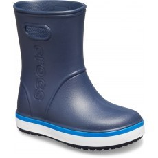 CROCS KIDS CROCBAND™ RAIN BOOT 205827 NAVY/BRIGHT COBALT