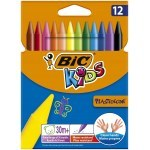 BIC KIDS PLASTIDECOR 12 COLOURS