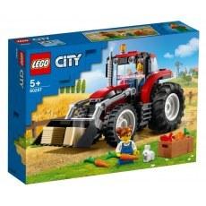 KLOCKI LEGO CITY TRAKTOR 60287