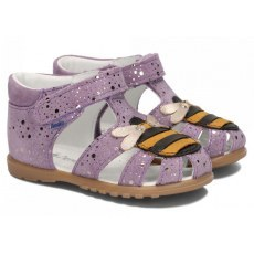 SANDALS AMEKO FIRST STEPS BEE LILAC