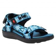 SANDALS LEE COOPER BLACK/BLUE
