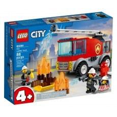 KLOCKI LEGO CITY WOZ STRAZACKI Z DRABINA 60280