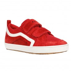 TRAINERS GEOX ALONISSO JUNIOR BOY RED/WHITE