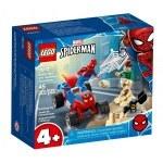 KLOCKI LEGO MARVEL POJEDYNEK SPIDER-MANA Z SANDMANEM 76172