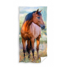 RECZNIK KAPIELOWY PLAZOWY 70 X 140 CM ANIMAL HORSE KON TNL204015-R