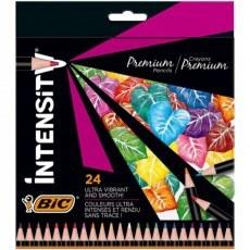 BIC PENCILS INTENSITY PREMIUM 24 COLOURS