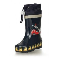 RAIN BOOTS PLAYSHOES FIRE TRUCK 188590