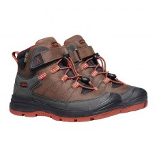 SHOES KEEN REDWOOD MID WP COFFE BEAN/PICANTE