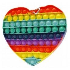 PUSH BUBBLE FIDGET POP IT HEART D38485