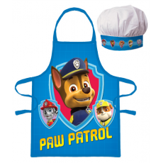 PROTECTIVE APRON WITH CHEF HAT PAW PATROL (1061)