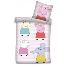 BABY BEDDING SET 100 X 135 CM PEPPA PIG (137)