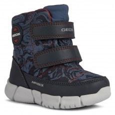 SNOW BOOTS GEOX FLEXYPER AVIO/RED AMPHIBIOX