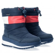 SNOW BOOT TOMMY HILFIGER BLUE/RED/WHITE WATERPROOF