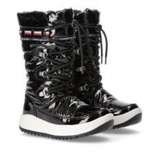 SNOW BOOT TOMMY HILFIGER BLACK WATERPROOF