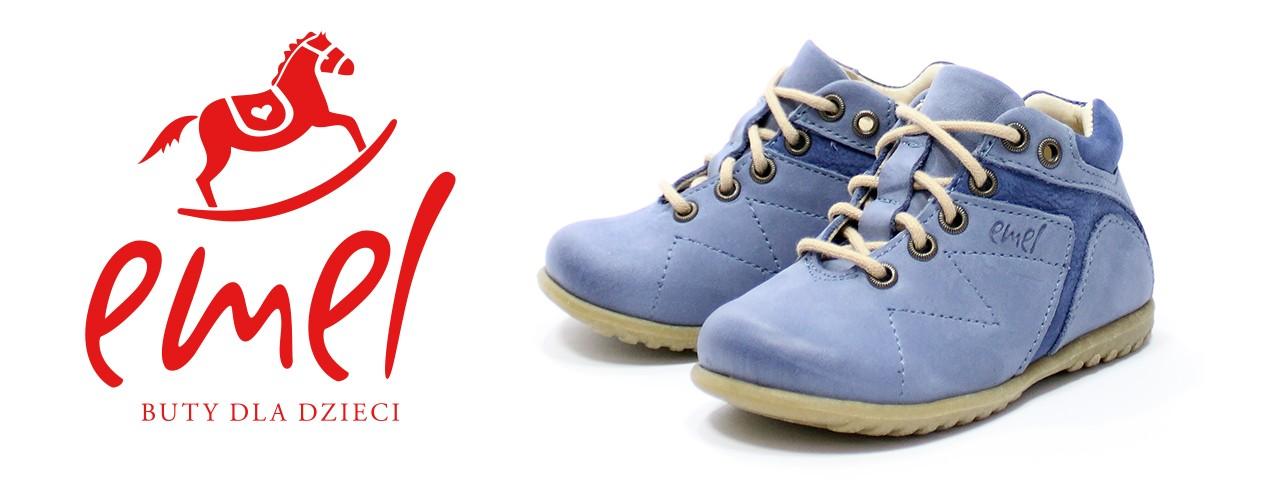 Emel Roczki buty dla dzieci do nauki chodzenia.
