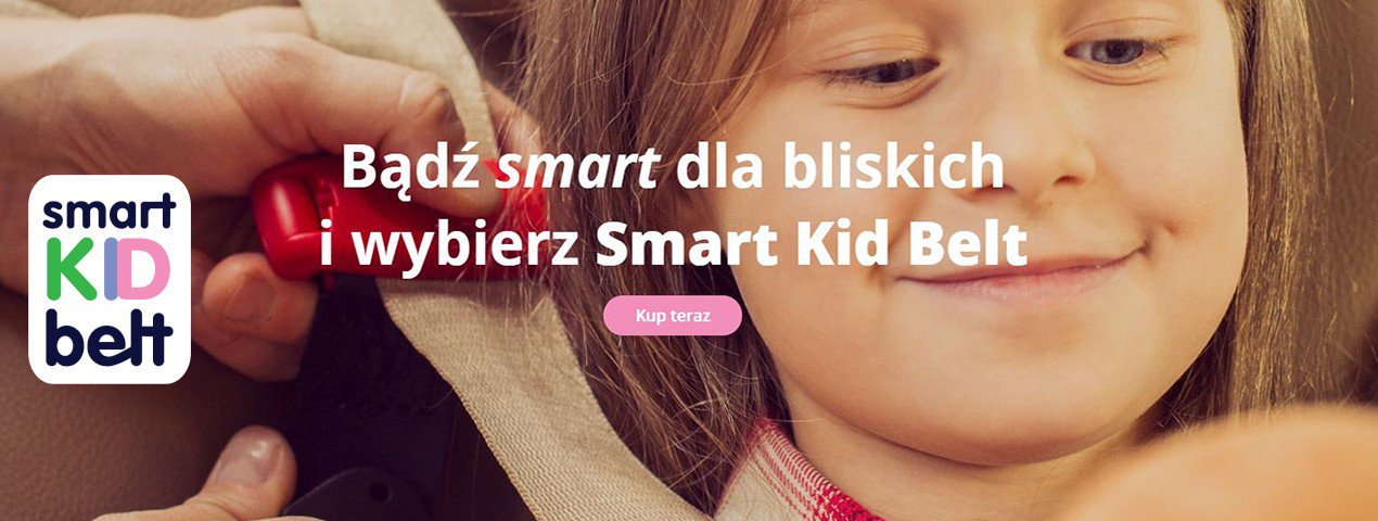 SMART KID BELT PAS ZASTĘPUJĄCY FOTELIK SAMOCHODOWY